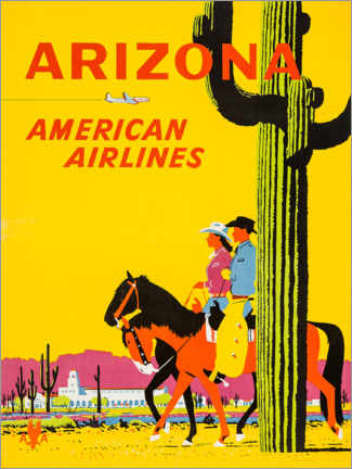 Poster  Arizona - Travel Collection