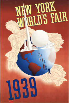 Poster  New York World's Fair 1939 - Travel Collection
