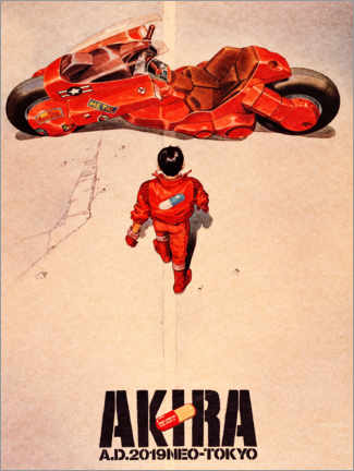 Tableau en PVC  Akira - Entertainment Collection