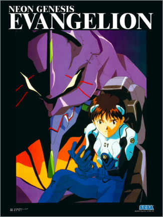 Poster  Neon Genesis Evangelion - Entertainment Collection