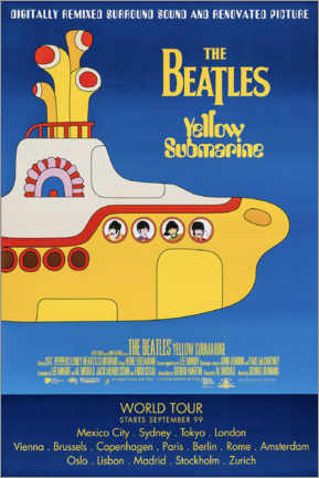 Poster  The Beatles - Yellow Submarine - Entertainment Collection
