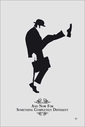 Poster  Ministry of Silly Walks - chungkong