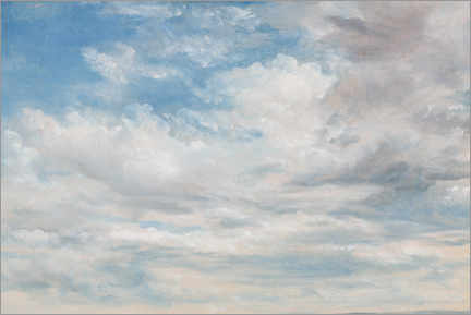 Poster  Nuages - John Constable
