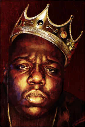 Poster  Biggie Smalls - Dmitry Belov
