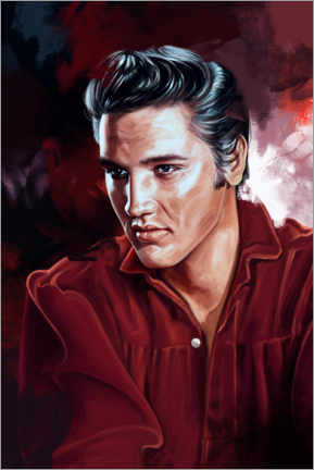 Poster  Elvis Presley - Dmitry Belov