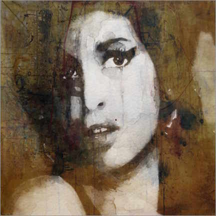 Poster  Amy Winehouse - Paul Lovering