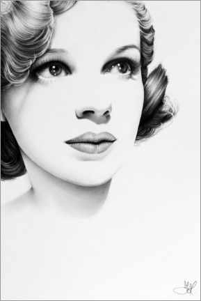 Poster  Judy Garland - Ileana Hunter