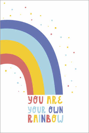 Poster You are your own rainbow