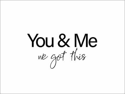 Poster You & Me