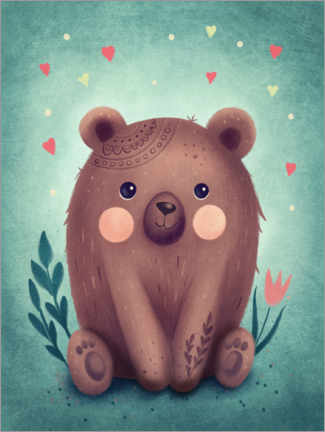 Poster Petit ours