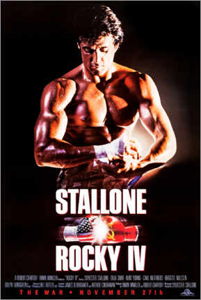 Poster  Rocky IV - Entertainment Collection