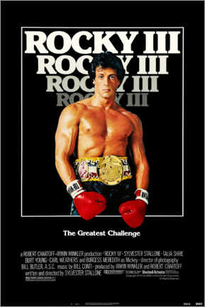 Poster  Rocky III - Entertainment Collection
