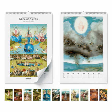 Calendrier mural  Dreamscapes 2021 - Hieronymus Bosch