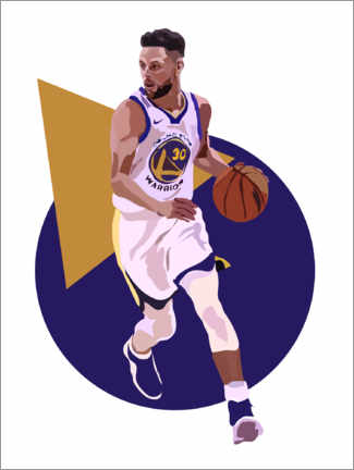 Poster  Stephen Curry - Anna McKay