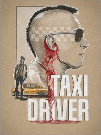 Poster  Taxi Driver - The Usher designs