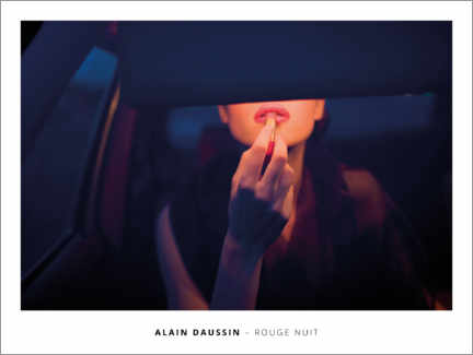 Poster  Rouge Nuit - Alain Daussin
