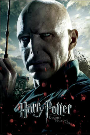 Poster  The Deathly Hallows II - Voldemort