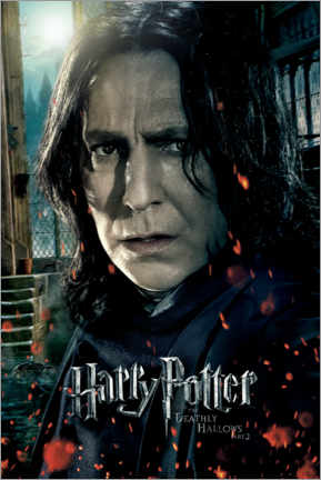 Poster  The Deathly Hallows II - Severus Snape