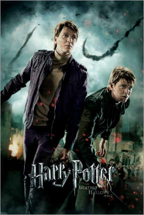 Poster  The Deathly Hallows II - Fred & George