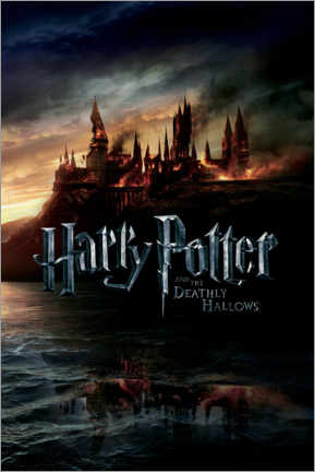 Tableau sur toile  The Deathly Hallows II - Hogwarts