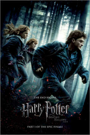 Poster  The Deathly Hallows I - Trio