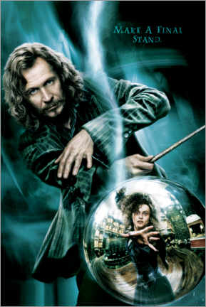 Poster  The Order of the Phoenix - Sirius Black