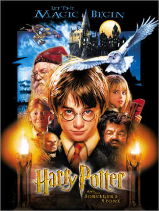 Tableau sur toile  Harry Potter and the Sorcerer's Stone