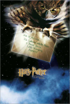 Poster  The Philosopher's Stone - The Letter