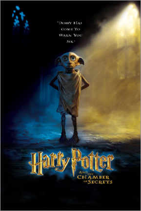 Poster  The Chamber of Secrets - Dobby