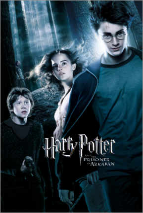 Tableau en plexi-alu  Harry Potter and the Prisoner of Azkaban