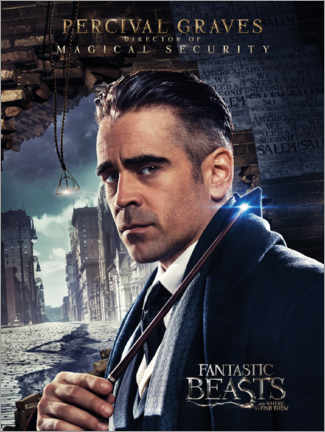 Poster  Fantastic Beasts and Where to Find Them - Percival Graves