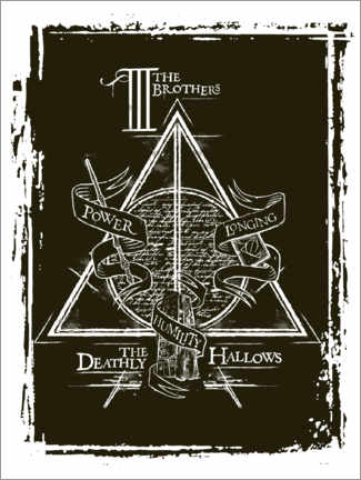 Poster  Peverell family - The Deathly Hallows