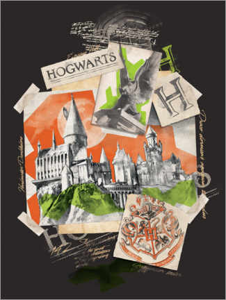 Poster  Hogwarts School of Witchcraft and Wizardry