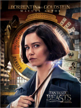 Poster  Fantastic Beasts and Where to Find Them - Porpentina Goldstein