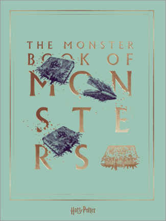 Poster  Harry Potter - The Book of Monsters