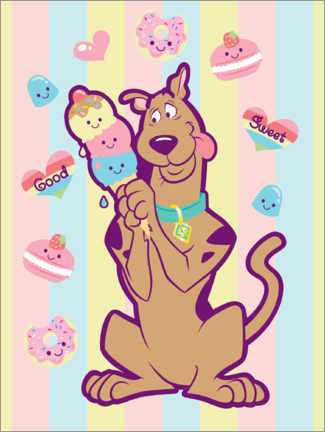 Poster  Scooby Sweets