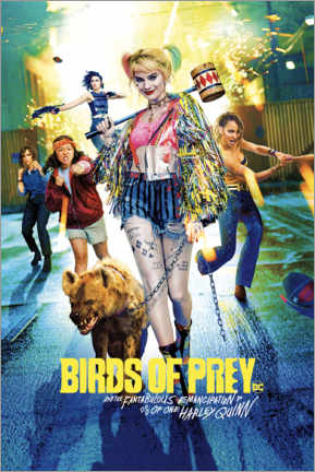 Poster  Harley Quinn - Birds of Prey