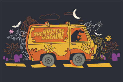 Poster  The Mystery Machine