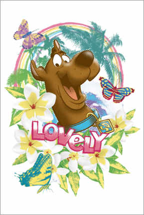 Poster  Holiday Scooby