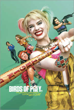 Tableau en PVC  Birds of Prey - Harley Quinn (2020)
