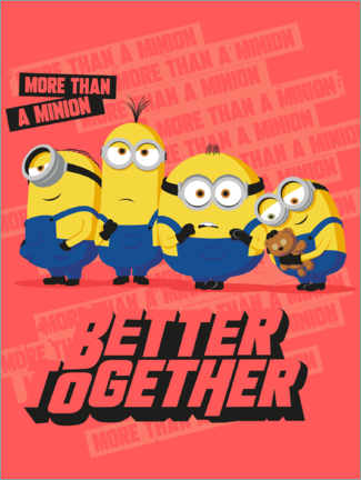 Poster  Minions - Better Together