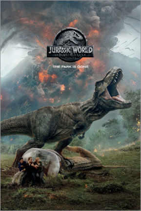 Tableau sur toile  Jurassic World : The park is gone