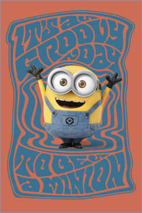 Poster  Groovy Minion