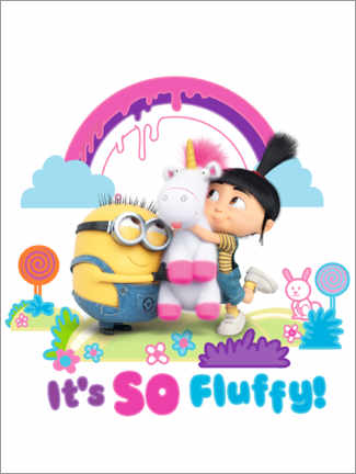 Poster  Agnes - It's so fluffy!