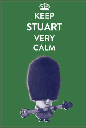 Poster  Keep Stuart very calm