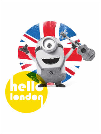 Poster  Hello London