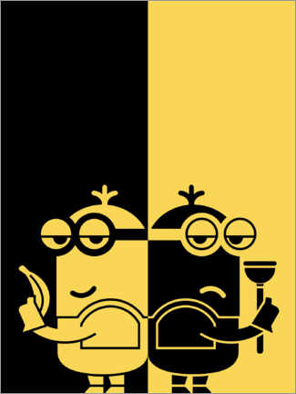 Poster  Black & Yellow