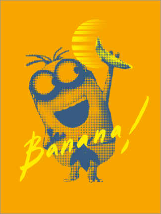 Poster  Banana Sunrise