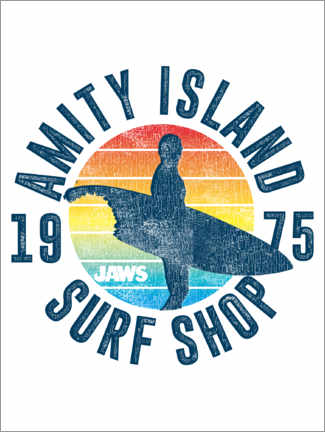 Poster  Amity Island Surf Shop