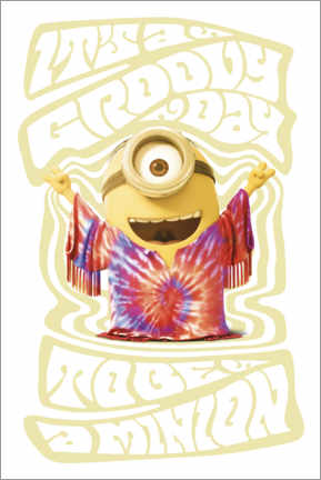 Poster  Minions - Groovy days